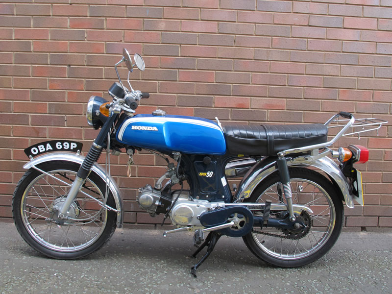 iconic 1970 39 s moped 49cc 4 stroke engine great. Black Bedroom Furniture Sets. Home Design Ideas