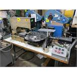 """Imtran Mdl. GS-100 Pad Printer, 8-Station 20"""" Diameter Rotary Table with DC Motor and Speed Control"""