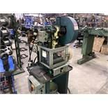 """Azimuth 6-Ton Part Revolution Press, 195 Strokes per Minute, 1-1/4"""" Stroke, Open Back Frame,"""