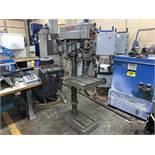 "Powermatic Mdl. 1200 Drill Press, Pedestal Mounted, 10"" Throat, 20"" Swing, 325 to 2000 RPM, 18"" x"