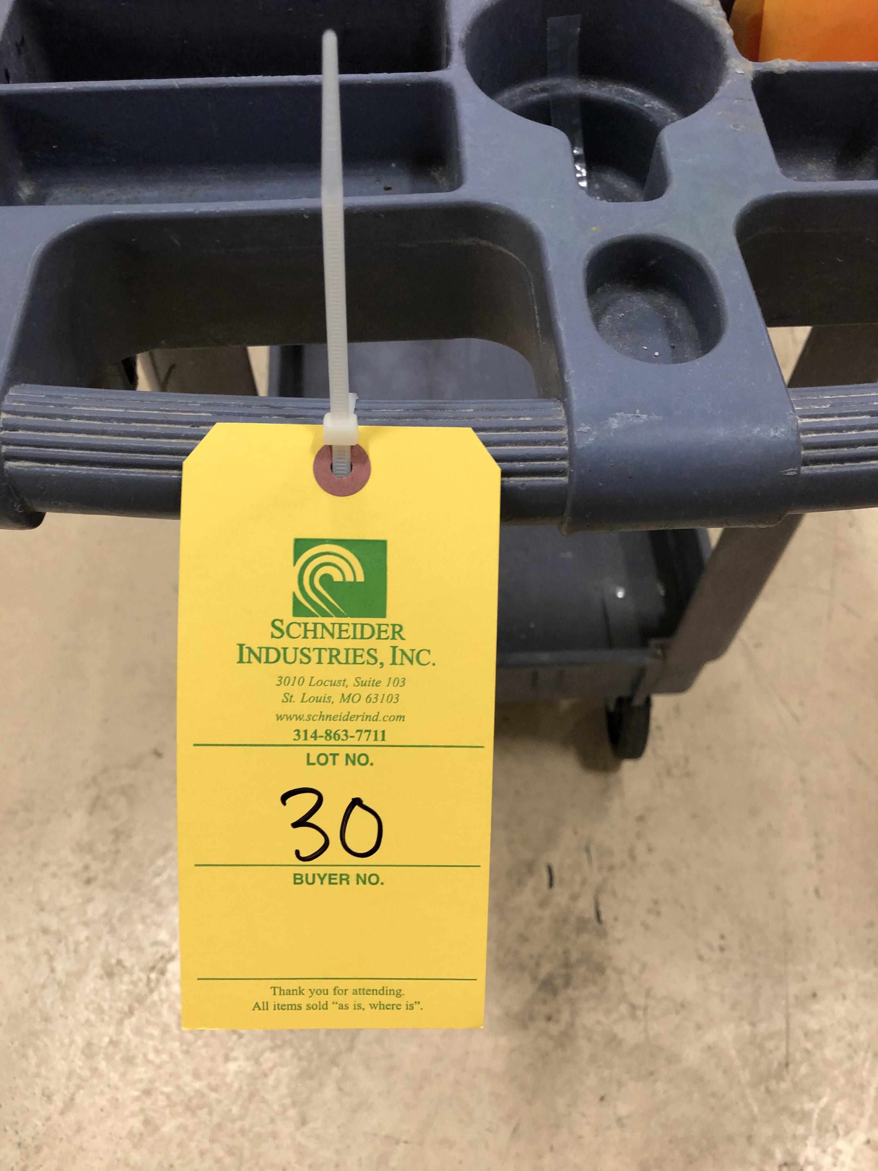 Plastic Push Cart - Image 2 of 2