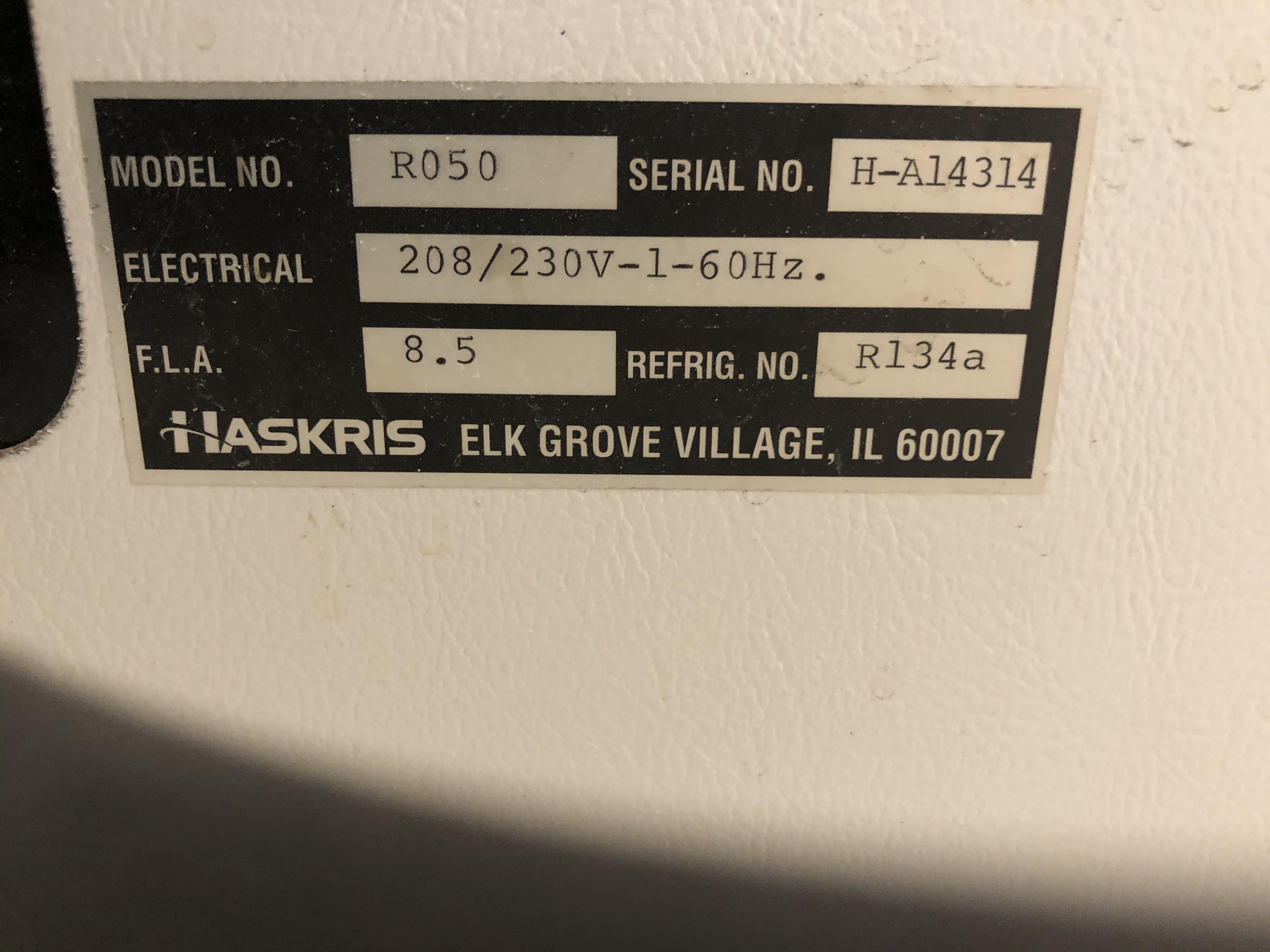 Haskris Chiller, Model# R050, Serial# H-A14314, 208/230V - Image 2 of 3