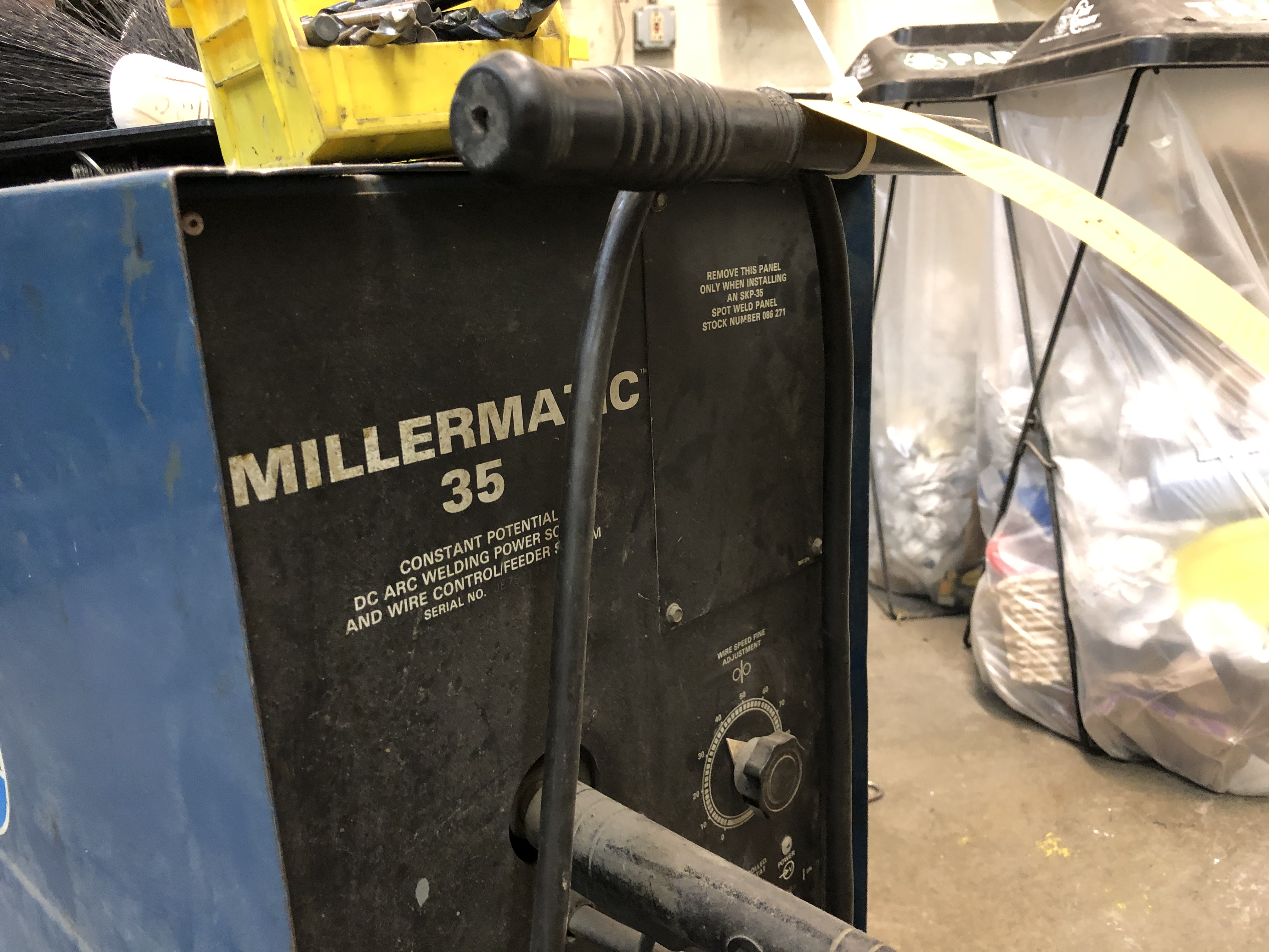 Millermatic 35 Arc Welder and Wire Feeder - Image 2 of 3