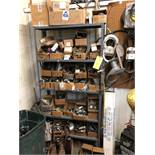 Metal Shelving w/ Contents