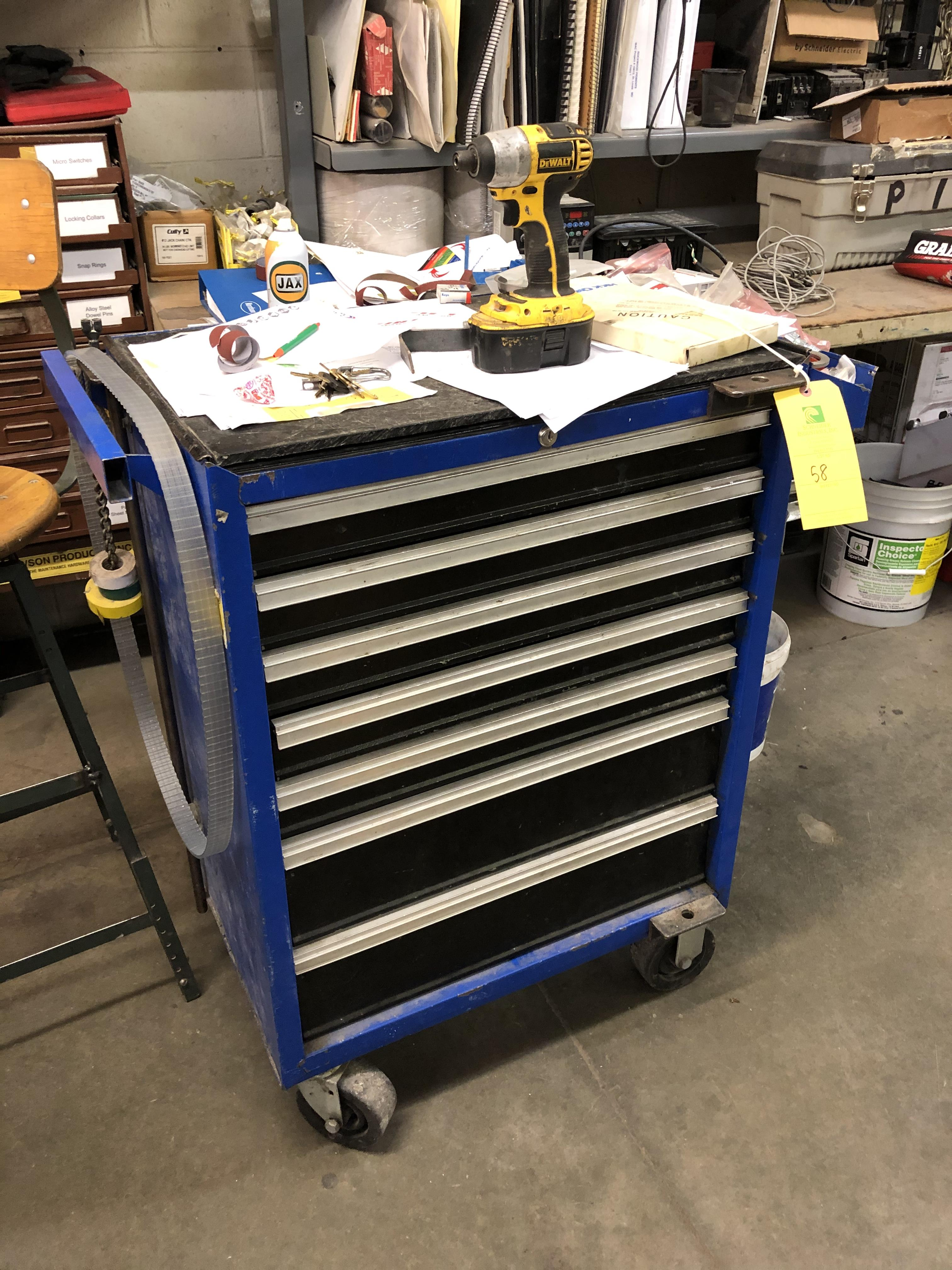 Tool Cabinet on Casters