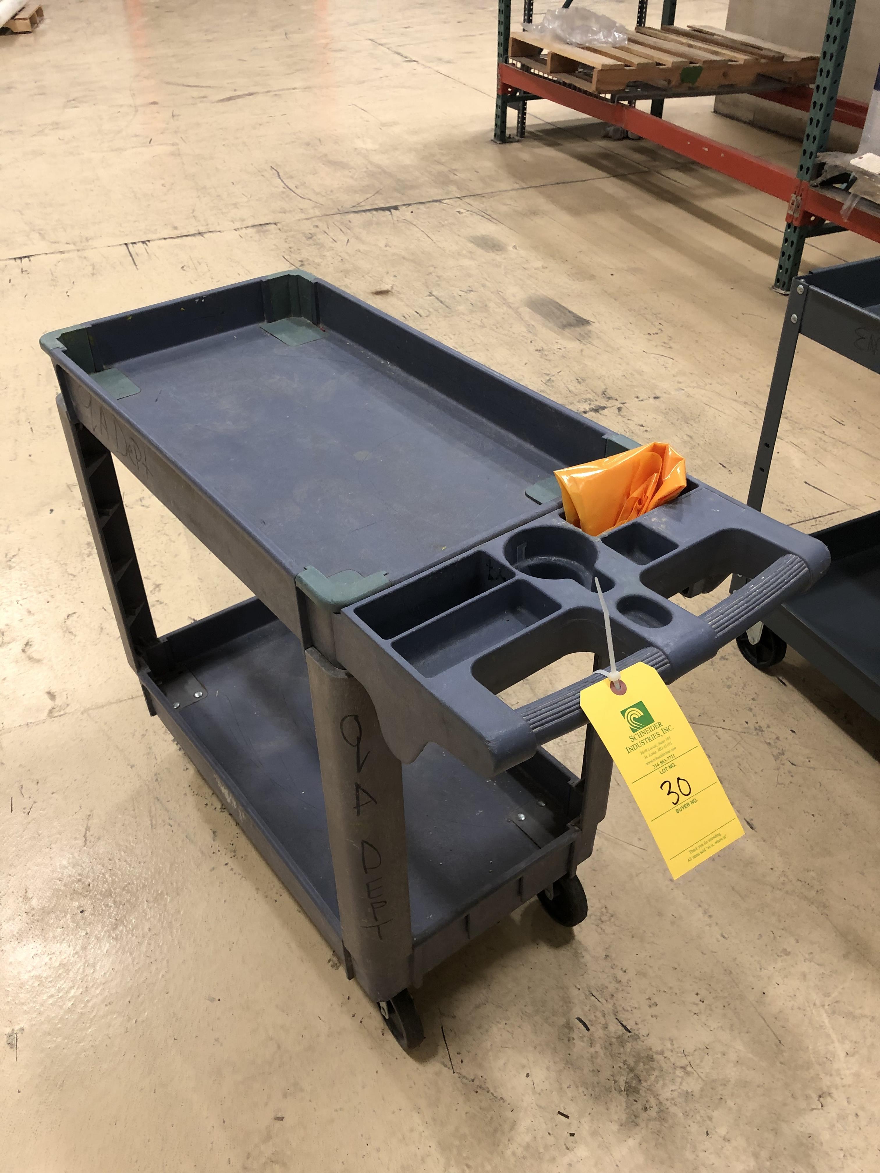 Plastic Push Cart