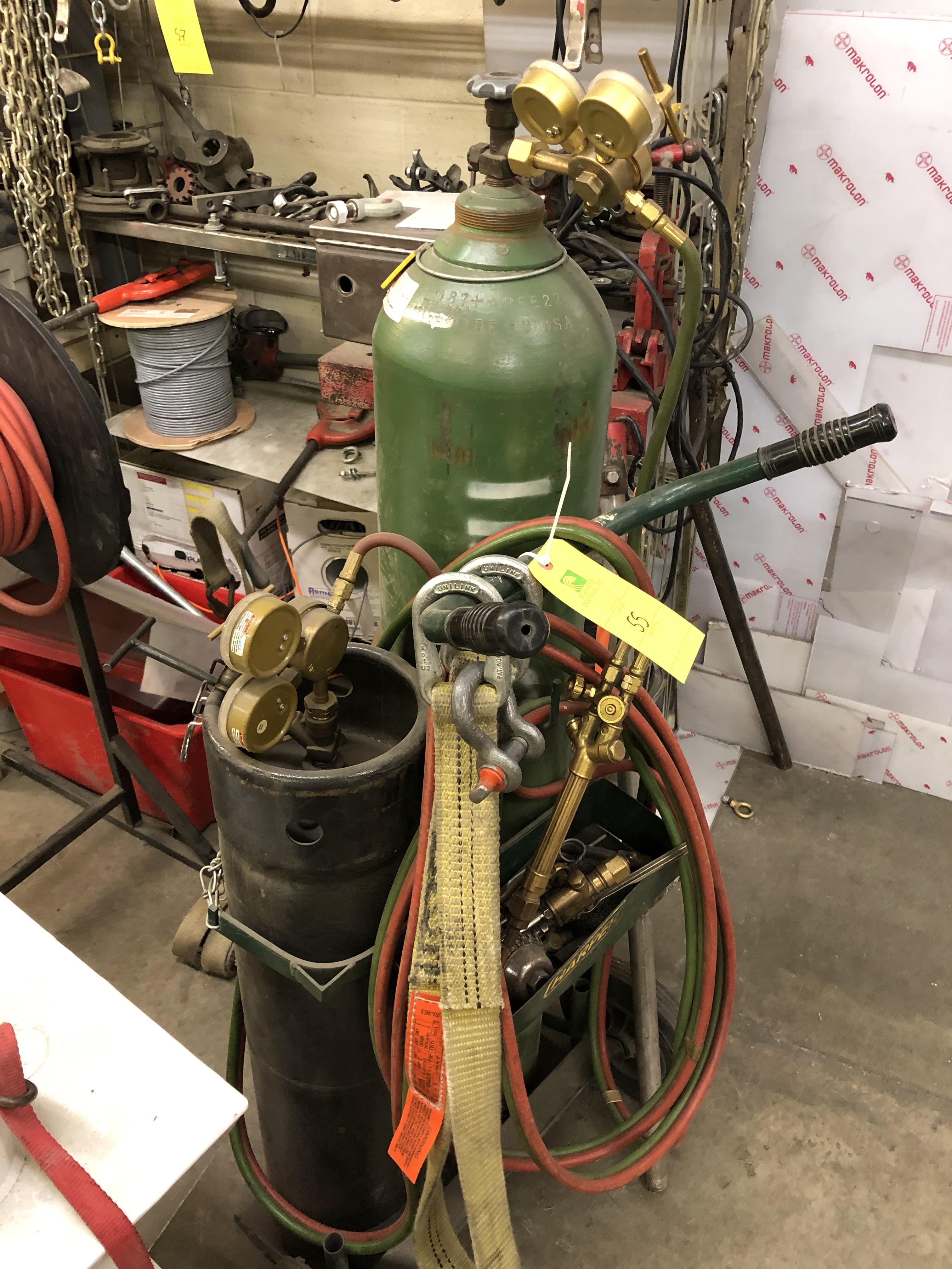 Gas Tanks & Torch
