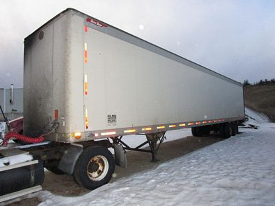 Lot 16 - 1997 GREAT DANE 53' VAN TRAILER, T/A, ROLL DOOR, VIN #1GRAA0625VB162802