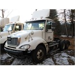 Lot 3 - 2005 FREIGHTLINER CL120 TRUCK TRACTOR, DETROIT 60 SERIES, 6 CYL,. TURBO DIESEL ENG., EATON FULLER,