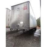 Lot 15 - 1998 DORSEY 45' VAN TRAILER, T/A, ROLL DOOR, VIN #1DTV11W20WA267540