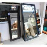 3 Display Mirrors, assorted sizes