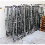 10 mobile steel Trolley/Cages