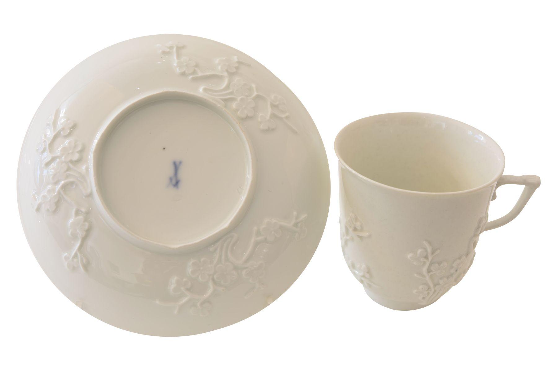 25 teiliges Kaffee- und Teeservice Meissen 18. Jahrhundert - Bild 5 aus 16