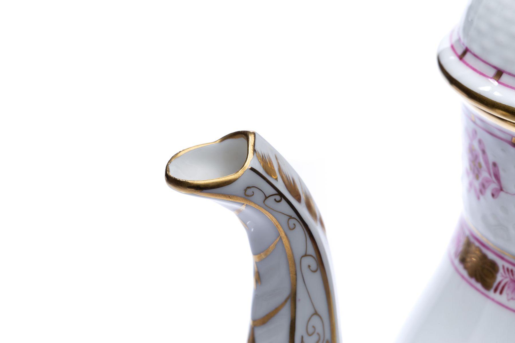 """Kaffeeservice Form Osier Dekor """"Indischer Korb"""" - Bild 9 aus 15"""