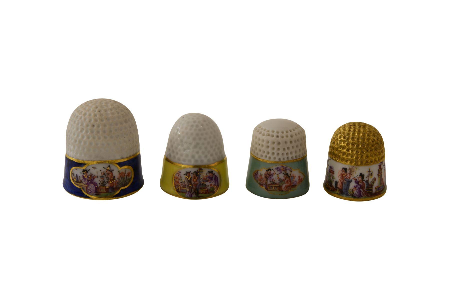 Fingerhüte Meissen - Bild 2 aus 2