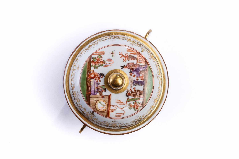 Kleine Suppenschale, Meissen 1725 - Bild 2 aus 4