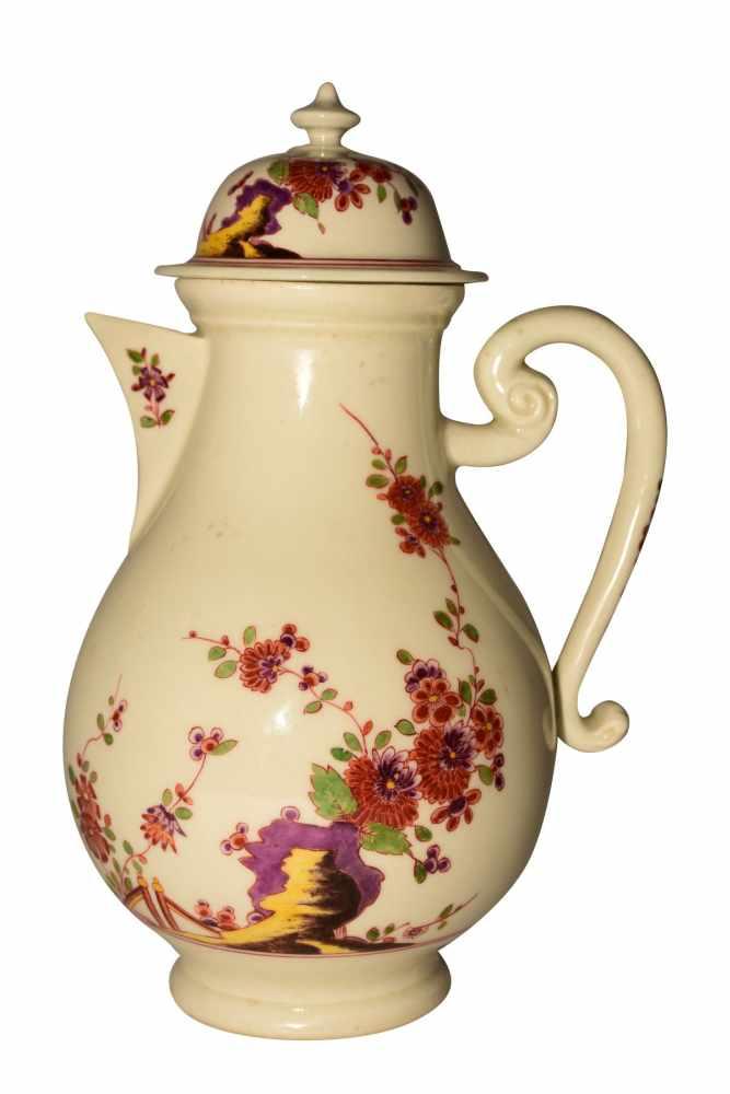 """""""Kaffeekanne Kakiemon"""" Meissen 1730"""