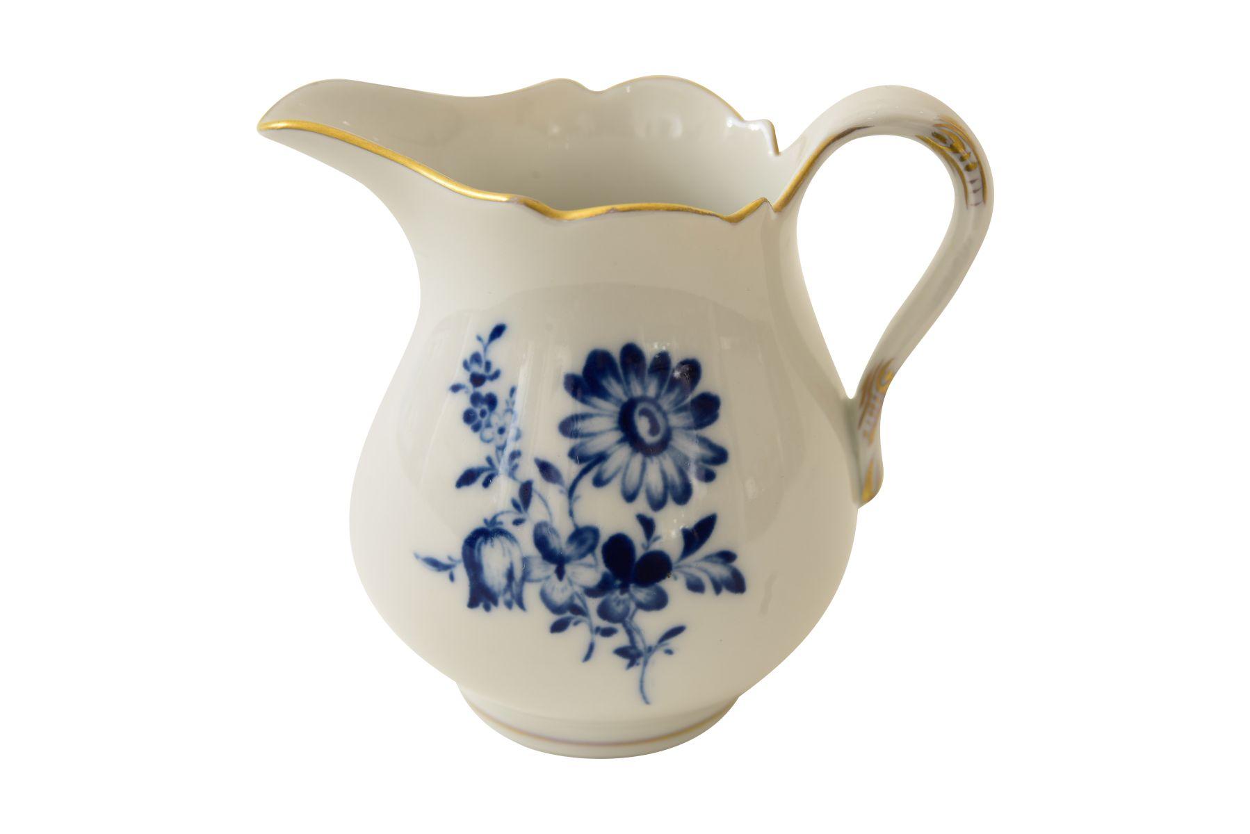 """Mokka Service """"Blaue Blume"""" Meissen - Bild 8 aus 10"""