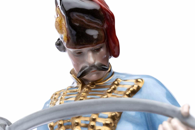 """Porzellanfigur """"Husar"""" Herrend Ungarn - Bild 3 aus 5"""