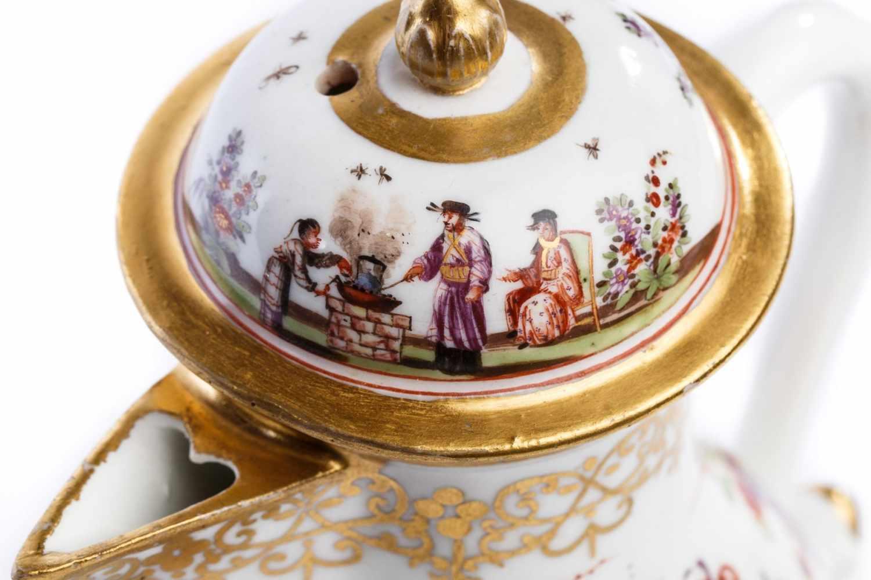Kaffeekanne, Meissen 1725/30 - Bild 2 aus 4