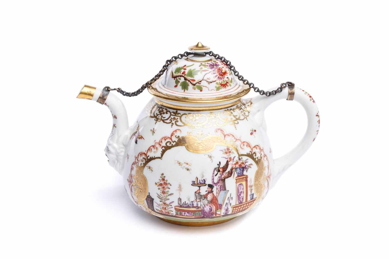 Teekanne, Meissen 1723/24