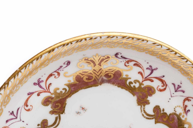 Koppchen mit Unterschale, Meissen 1723/25 - Bild 3 aus 6