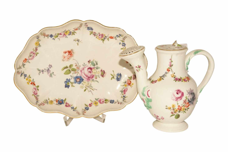 Blumenkannen auf Présentoir Meissen 1730 - Bild 5 aus 8
