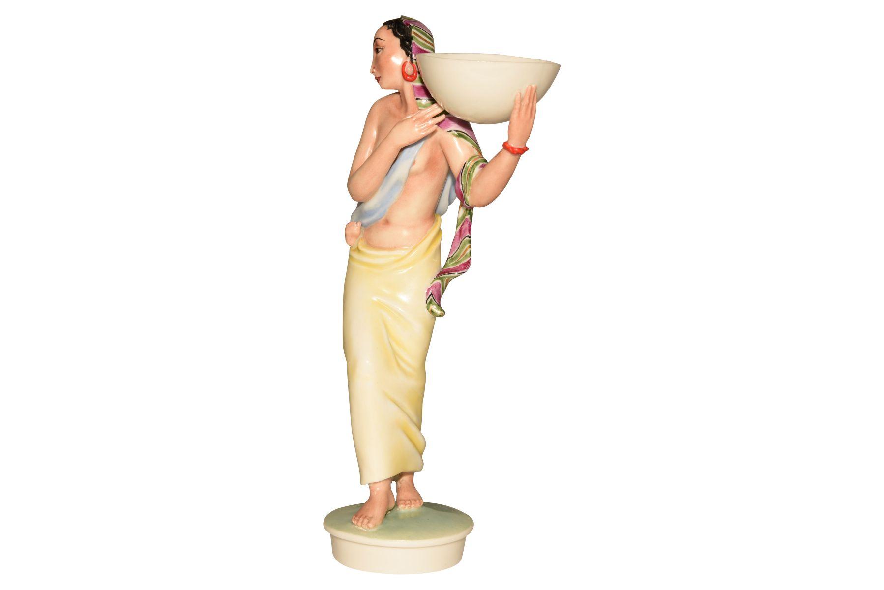 Ägypterin mit Kind und Schale, Augarten - Bild 4 aus 5