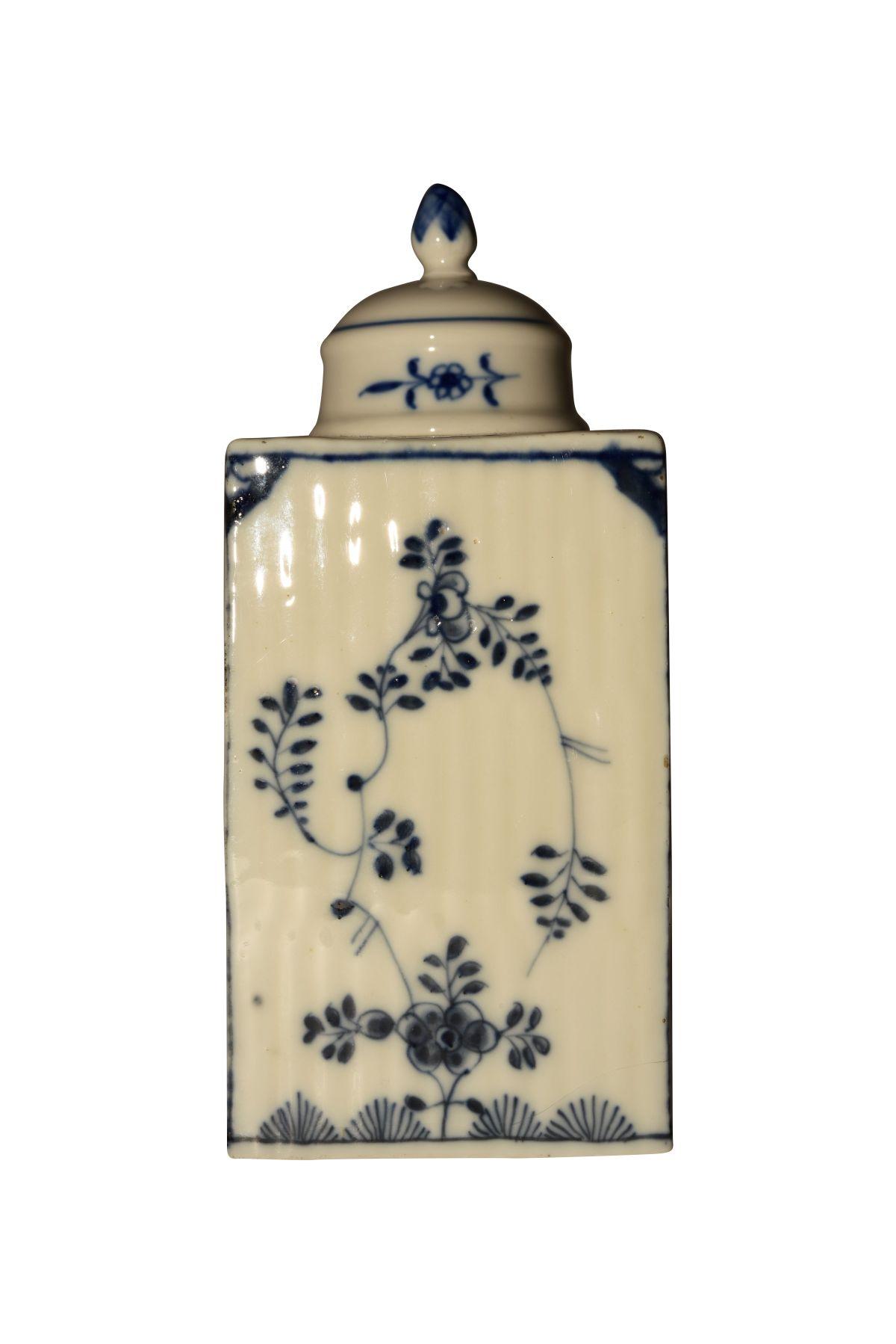 Teedosee mit Deckel, Meissen 1750 - Bild 2 aus 5