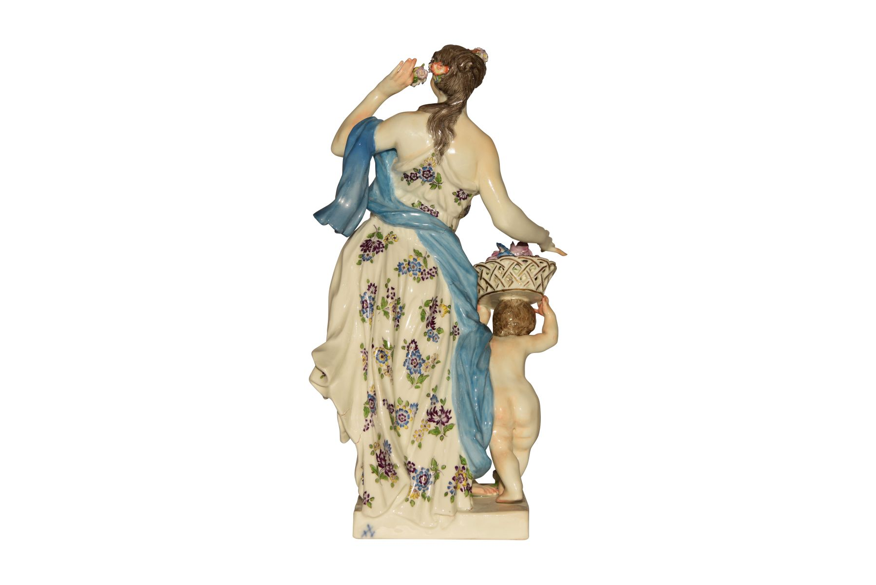 """""""Frühling"""" Figur Meissen 1750 - Bild 3 aus 4"""