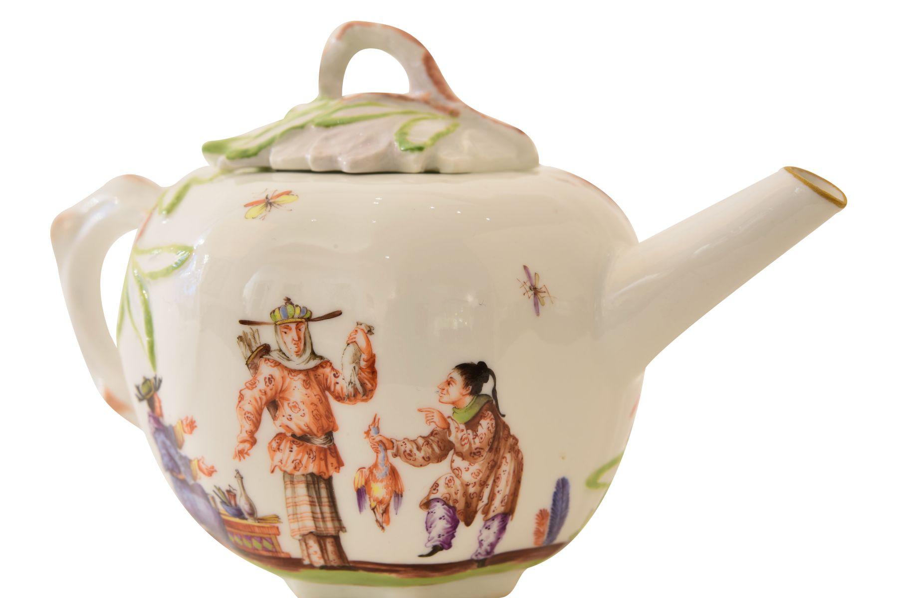 Kleines Teekännchen, Meissen - Bild 5 aus 6