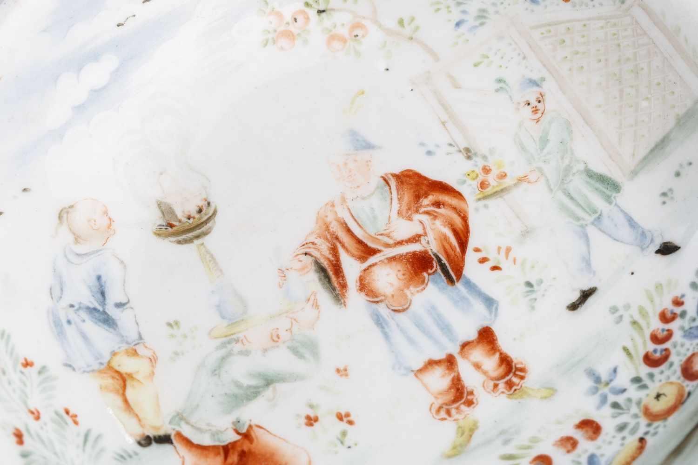 Kleiner Bildteller, Meissen 1730/40 - Bild 2 aus 3