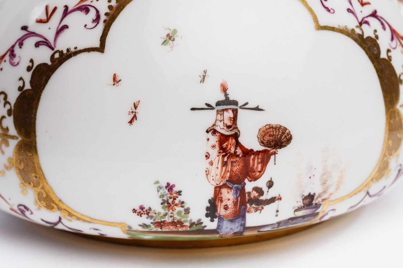 Teekanne, Meissen 1723/24 - Bild 2 aus 4