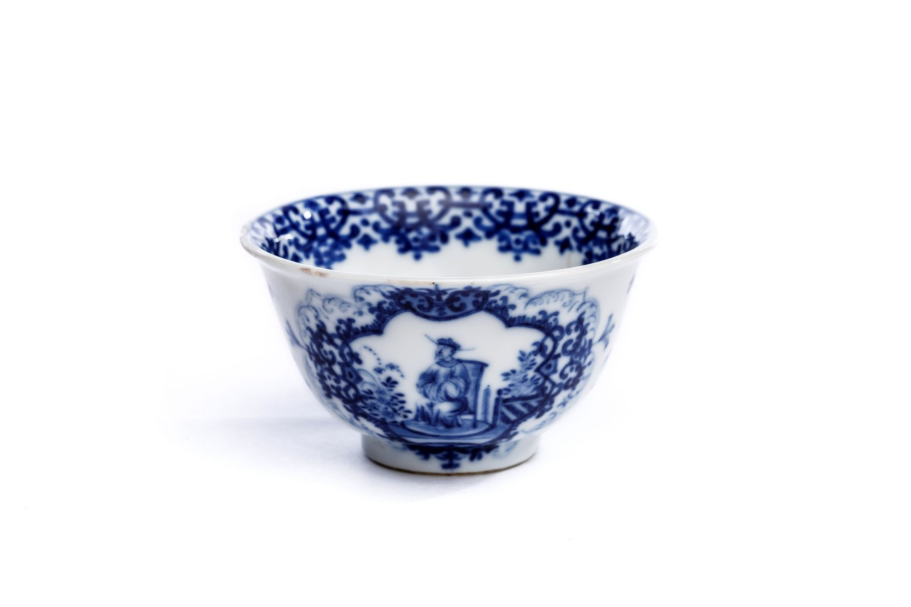 Koppchen blau, Meissen 1720/25