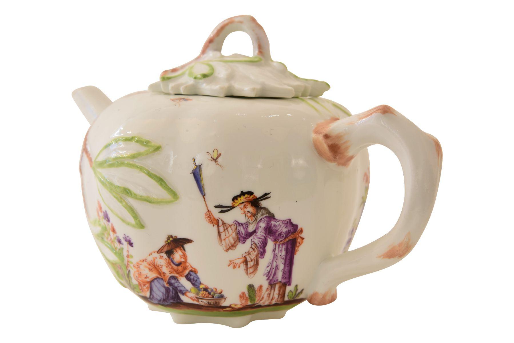 Kleines Teekännchen, Meissen - Bild 3 aus 6