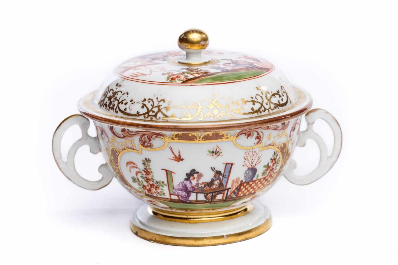 Kleine Suppenschale, Meissen 1725