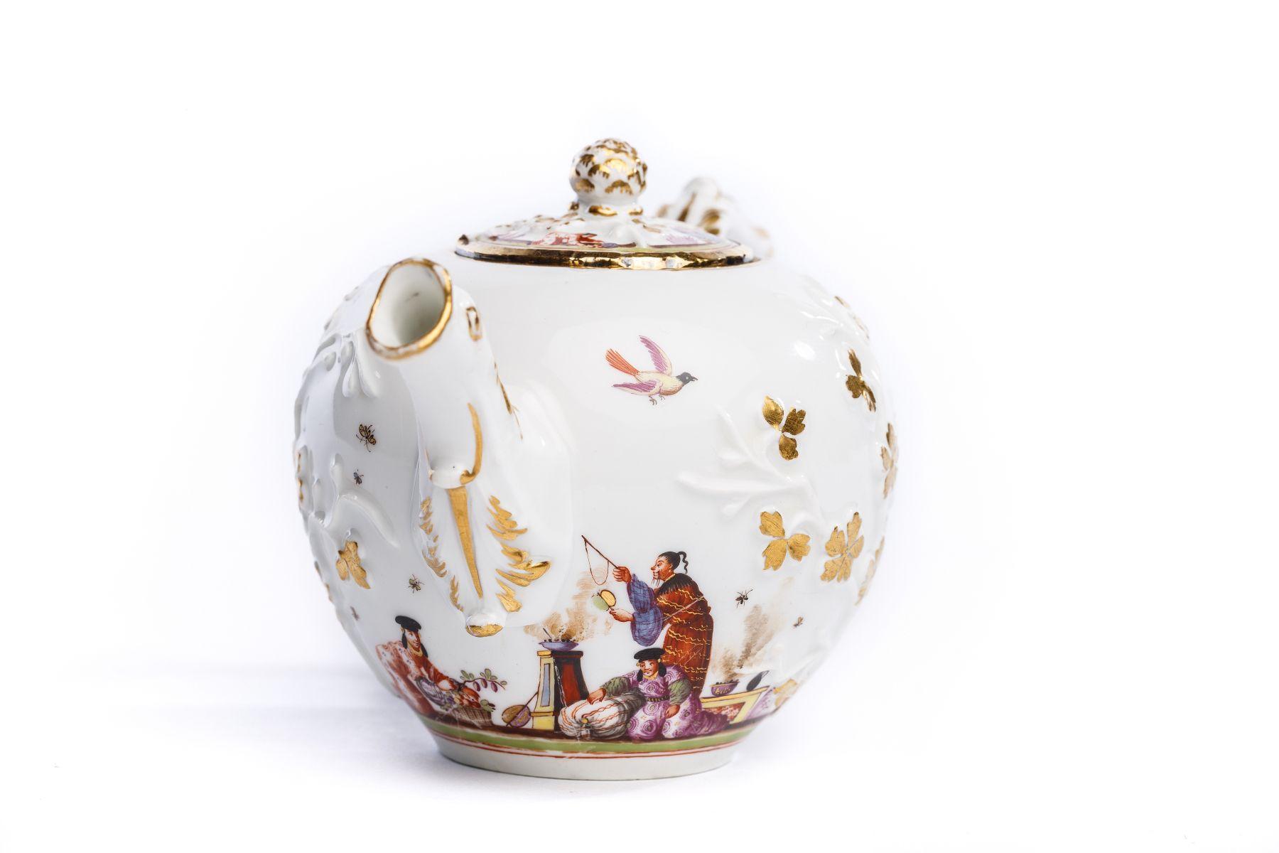 Teekanne, Meissen 1730 - Bild 2 aus 4