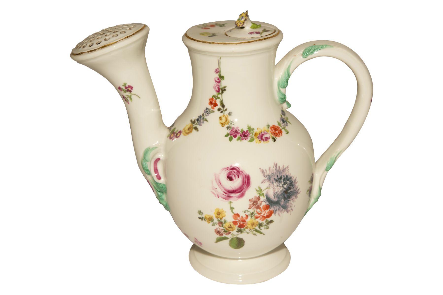 Blumenkannen auf Présentoir Meissen 1730 - Bild 3 aus 8