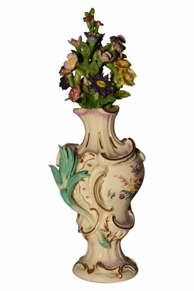 Pot Pouri Vase Meissen um 1750 - Bild 2 aus 6