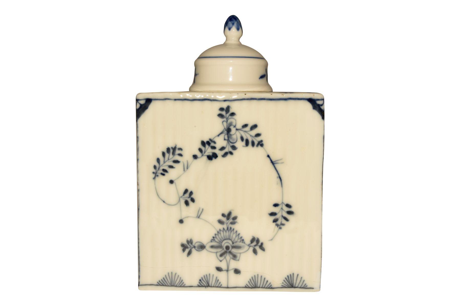 Teedosee mit Deckel, Meissen 1750