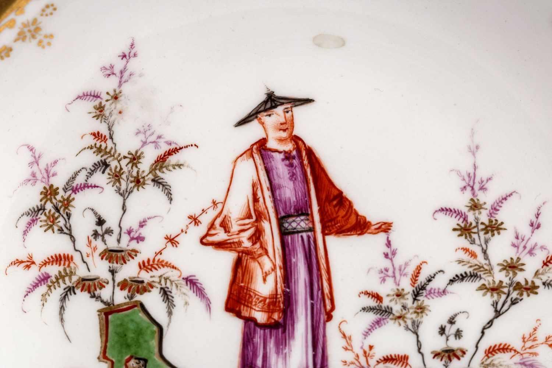 Koppchen mit Unterschale, Meissen 1720-25 - Bild 2 aus 5