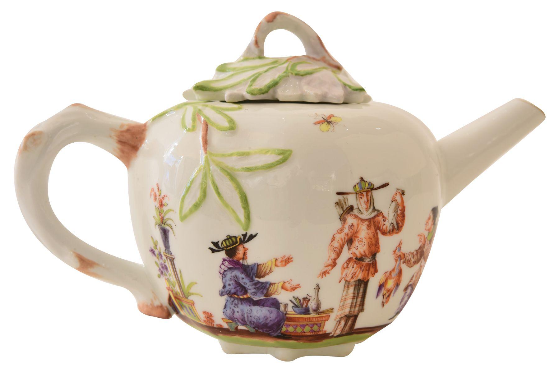 Kleines Teekännchen, Meissen - Bild 4 aus 6