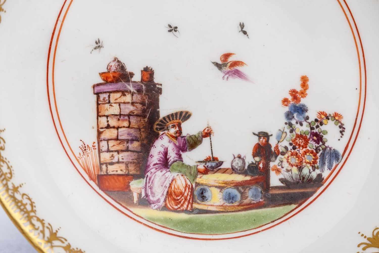 Kleine Unterschale, Meissen 1740, The Hoffmeister Collection - Bild 2 aus 3