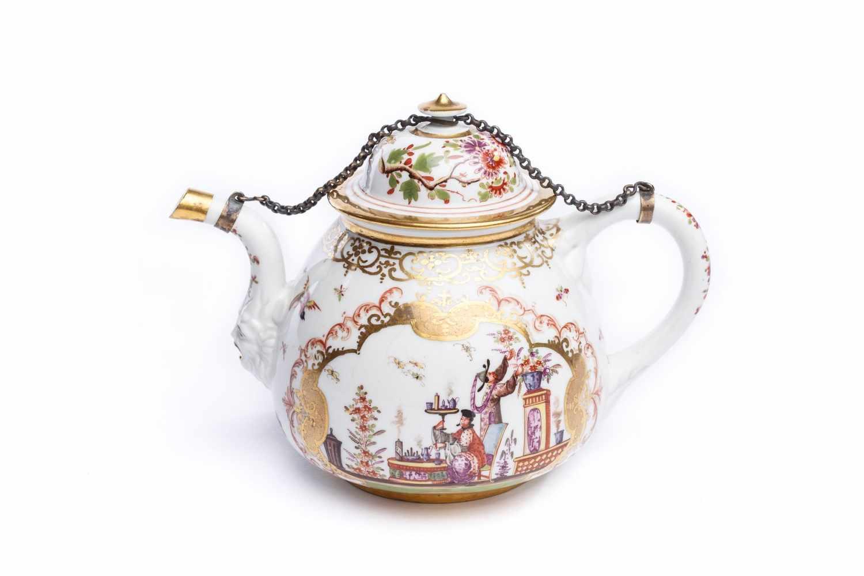Teekanne, Meissen 1723/24 - Bild 2 aus 5