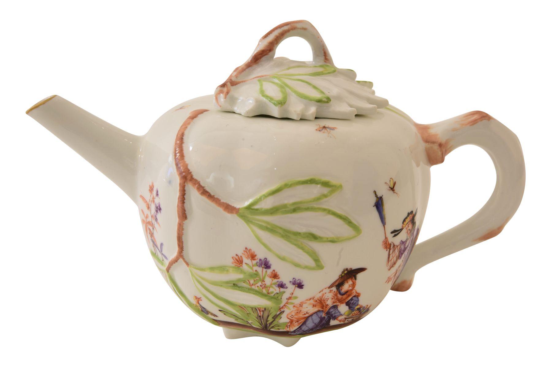 Kleines Teekännchen, Meissen