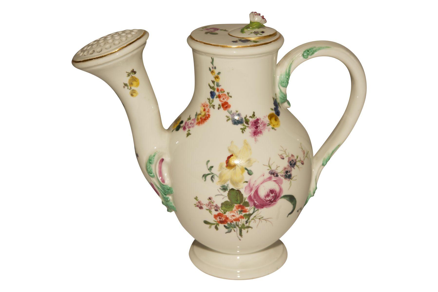 Blumenkannen auf Présentoir Meissen 1730 - Bild 4 aus 8