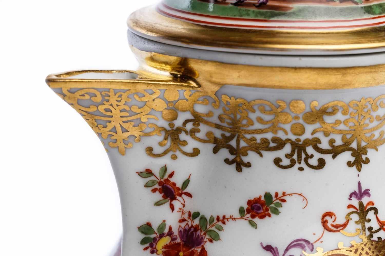 Kaffeekanne, Meissen 1725/30 - Bild 4 aus 4