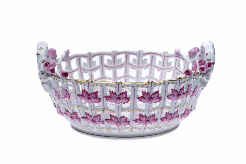 Blumentopf, Blumenvase, Kerzenständer und Früchtekorb - Bild 2 aus 11