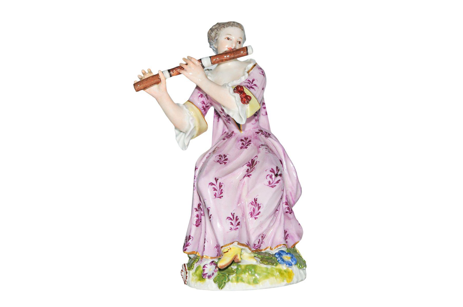 Flötenspielerin Meissen
