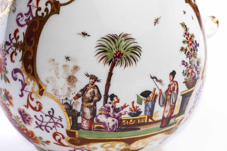 Kaffeekanne, Meissen 1723/24 - Bild 4 aus 4